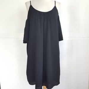 French Connection Tunic Dress Off Shoulder M NWOT